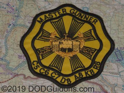Master Gunner Patch