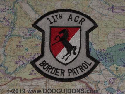 11th ACR BORDER PATROL