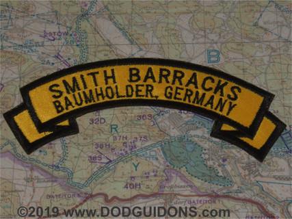 SMITH BARRACKS BAUMHOLDER ROCKER