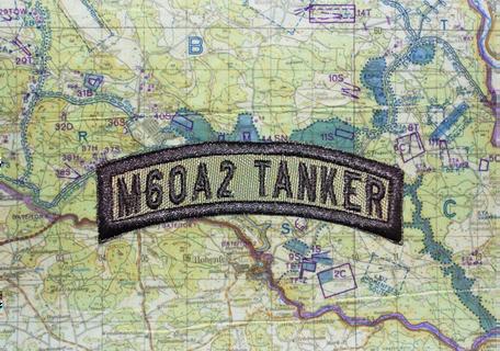 M60A2 TANKER TAB OD GREEN
