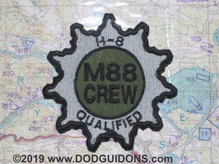 M88 CREW H8 QUALIFIED PATCH