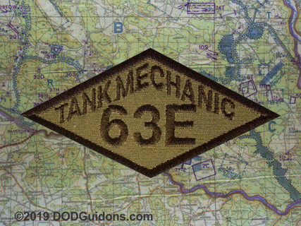 63E TANK MECHANIC DIAMOND