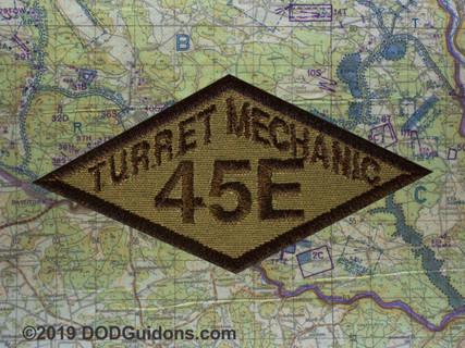 45E TANK TURRET MECHANIC DIAMOND