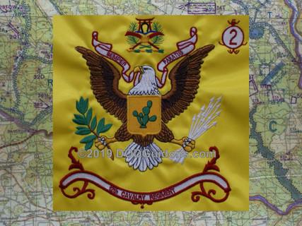 12th Cavalry Regimental Flag