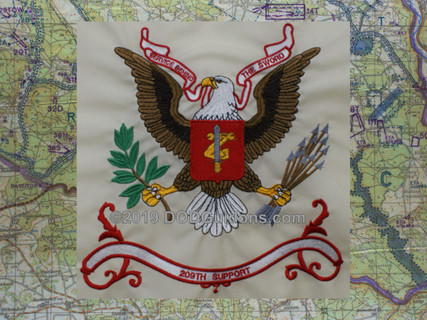 209TH SUPPORT REGIMENT FLAG