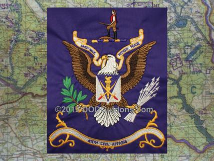 411TH CIVIL AFFAIRS FLAG