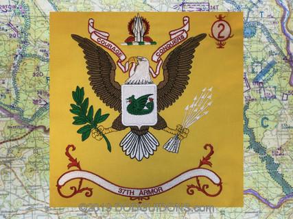 37th Armor Regimental Flag
