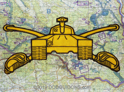 Armor Branch Insignia Riding Vest Patch