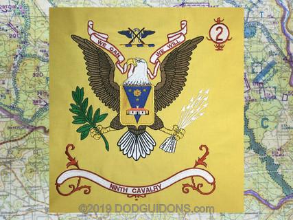 9TH Cavalry Regimental Flag