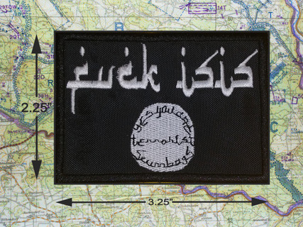 FCUK ISIS MORAL PATCH