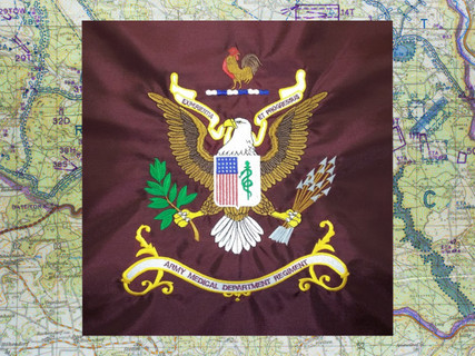 Army Medical Department regimental flag
