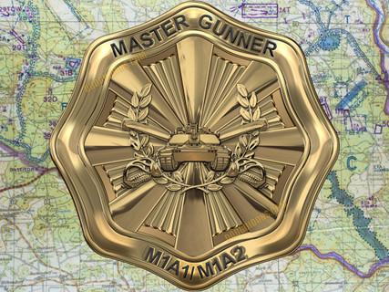 Master Gunner Wall Art Metal Art Sign
