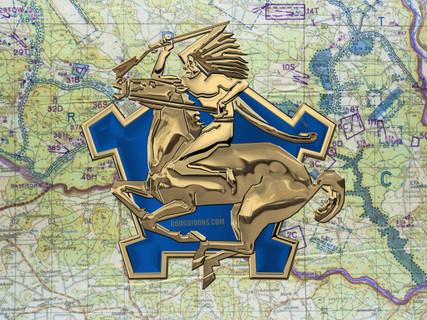9th Cavalry Medallion