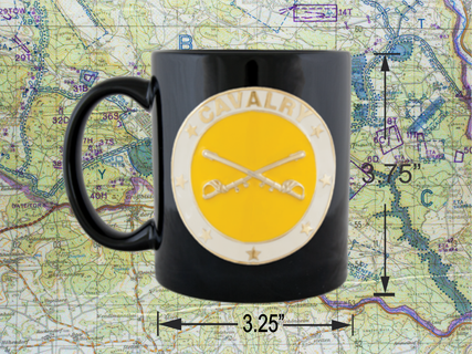 Cavalry coffee cup