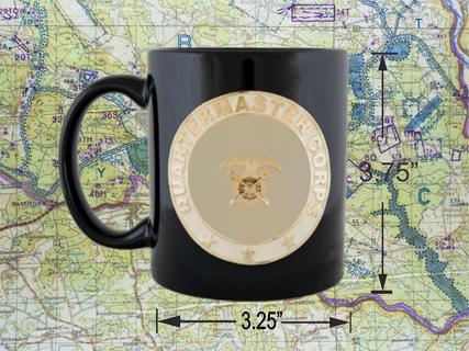 Quartermaster coffee cup