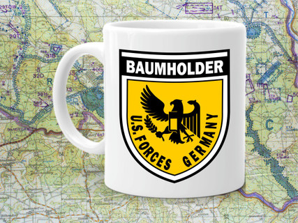US Forces Baumholder Coffee Cup