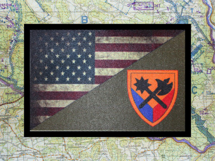 194th Armored Brigade USA Flag Morale Patch