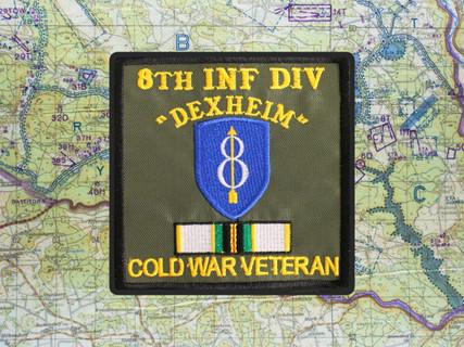 8th ID COLD WAR VETERAN PATCH DEXHEIM