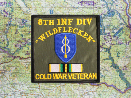 8th ID COLD WAR VETERAN PATCH WILDFLECKEN