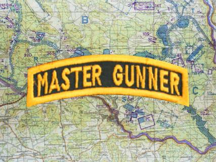 MASTER GUNNER TAB GREEN GOLD