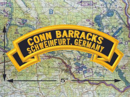 Conn Barracks Schweinfurt Black Patch