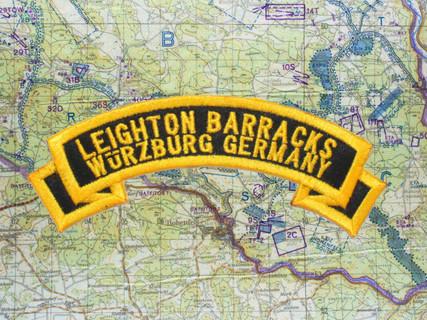Leighton Barracks Würzburg Black Patch