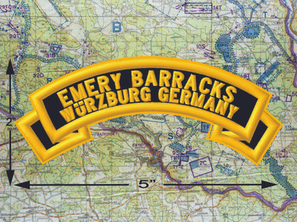 Emery Barracks Wurzburg Black Patch