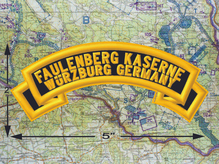 Faulenberg Kaserne Wurzburg Black Patch