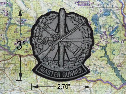 New Master Gunner Patch