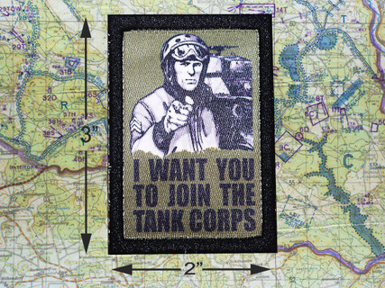 Join The Tank Corps Moral Patch