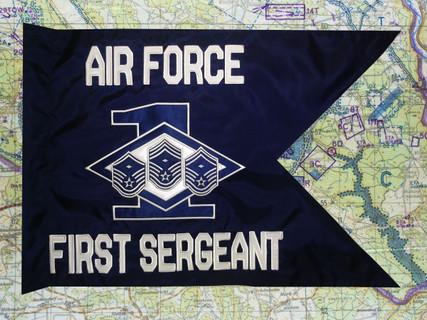 Air Force First Sergeant Guidon