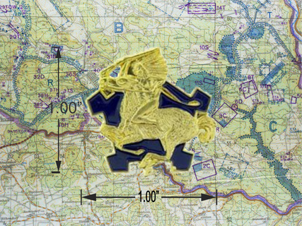 9th Cavalry Hat Pin