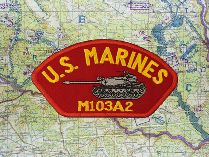 M103A2 HAT PATCH RED