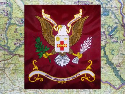 188th Medical Battalion Regimental Flag