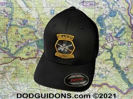 Bradley Master Gunner BLACK Ball CAP