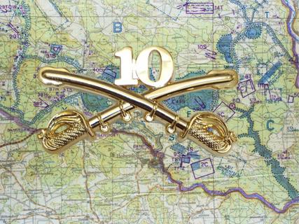 10th Cavalry Insignia vest Pin