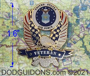 Air Force Veteran Pin K94