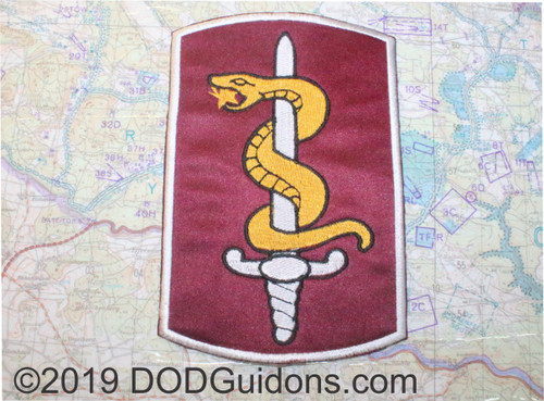 30th Medical Brigade Patch. Can be used for a Shadow Box