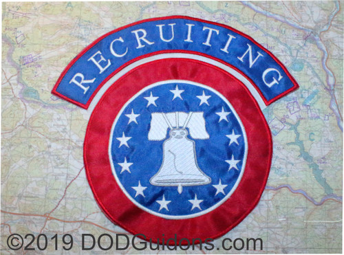 Recruiting Back Patch