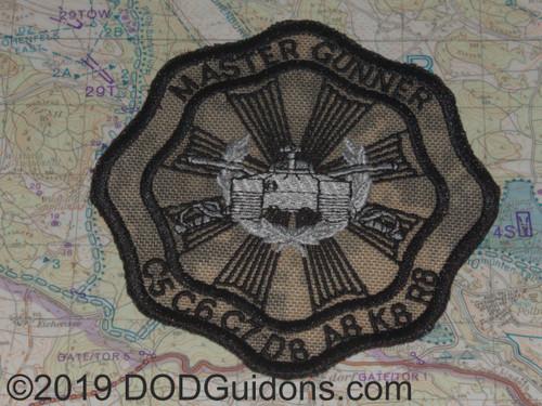 Master Gunner ACU Background Patch