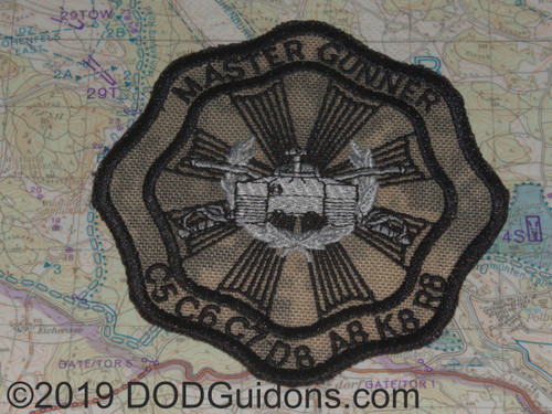Master Gunner ACU Background Patch