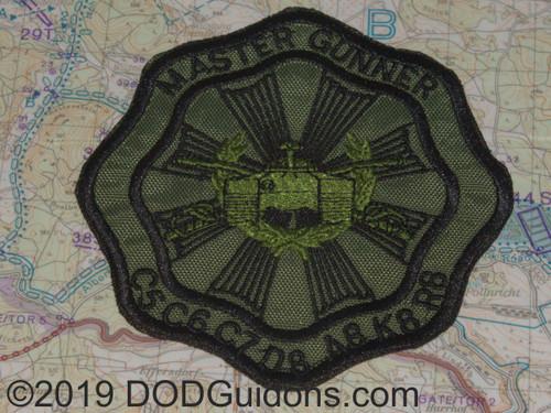 od master gunner patch