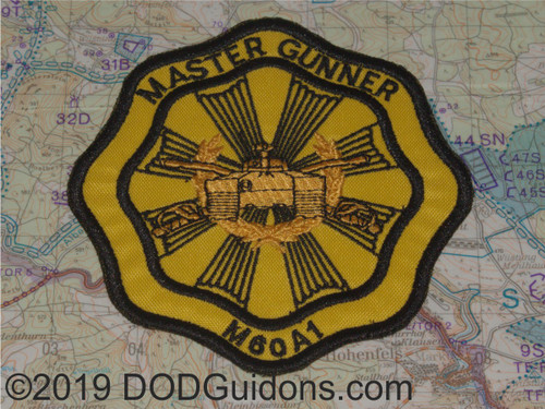 M60A1 master Gunner Patch