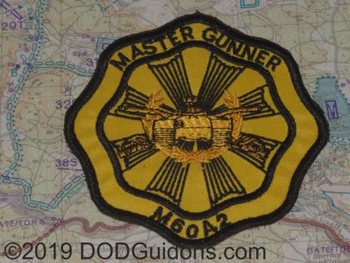 M60A2 master Gunner Patch