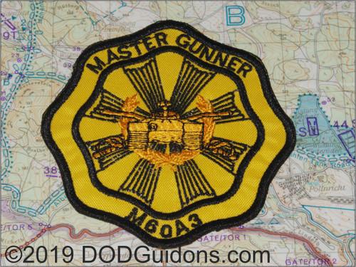 M60A3 master Gunner Patch