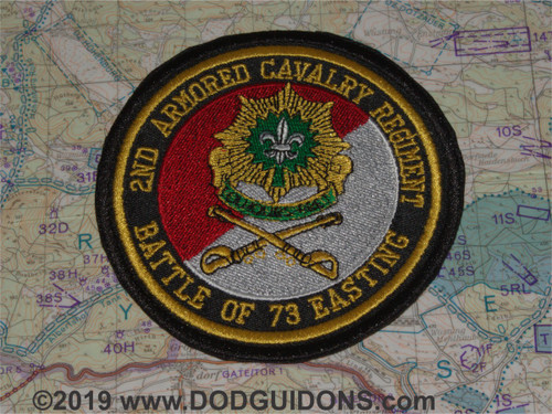 2ND ACR Regiment Battle of 73 Easting Commemorative Patch
