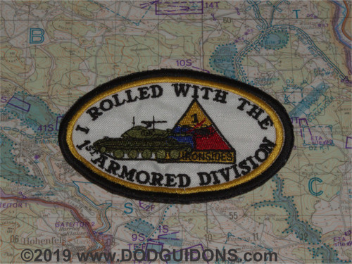 I rolled with the 1st Armored Division M551