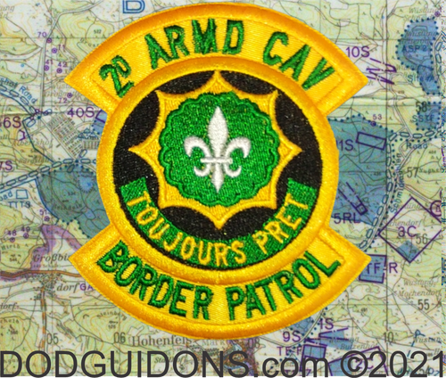 2nd acr border patrol cold war