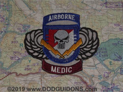 3-73 Cavalry Regt 82nd Airborne Medic Patch