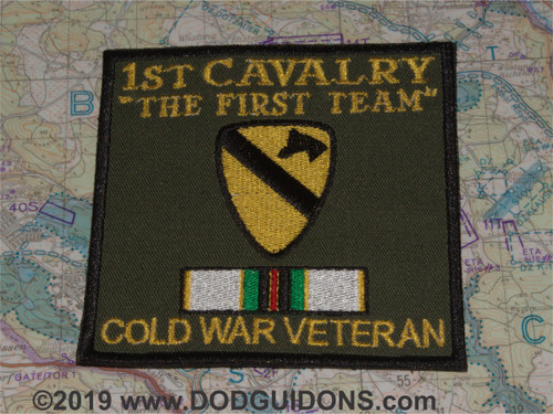 1st CAV COLD WAR VETERAN PATCH